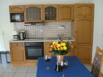 Mayschoß Ferienwohnung, Ferienapartment Küche, Dohmen Einrichtung